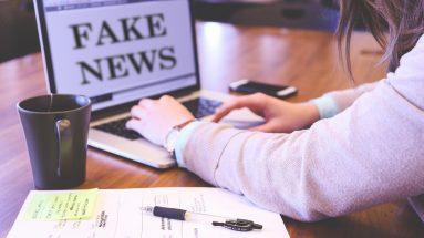 Nachgemachtes Parfum: Frau sieht am PC Fake-News