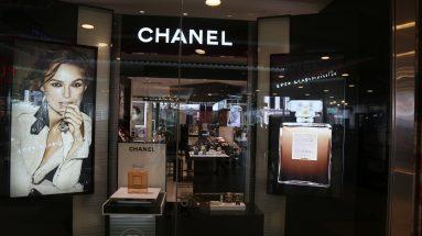 Chanel Parfum: Schaufenster eines Chanel-Stores